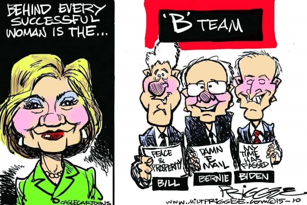 Clinton Plays the Gender Card