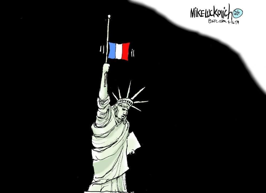 Paris And New York Are United By Urban Horror