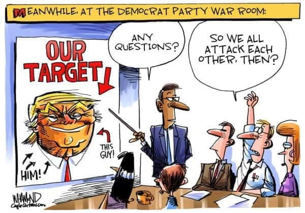 Playtime Over For Democrats' Radicals